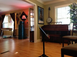 Piano Lesson Area